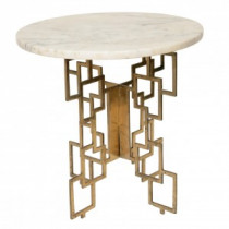 Small Brass Side Table Marble And Brass Side Table