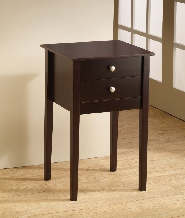 30 Tall Side Table