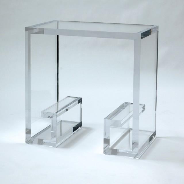 Acrylic Side Table Ikea