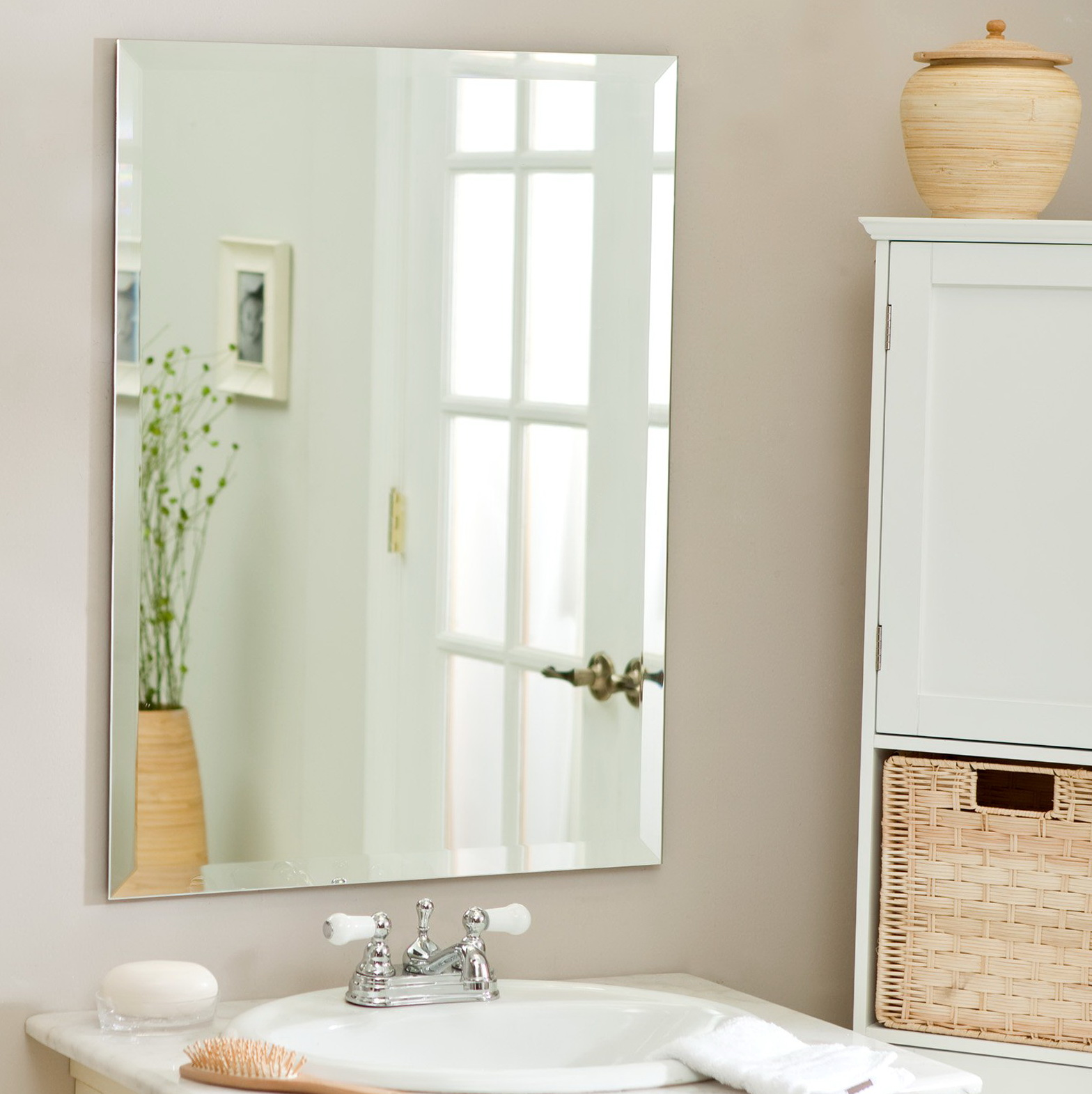 Beveled Bathroom Vanity Mirrors