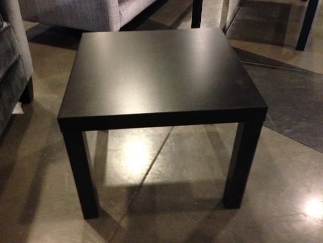 Black Side Table Ikea