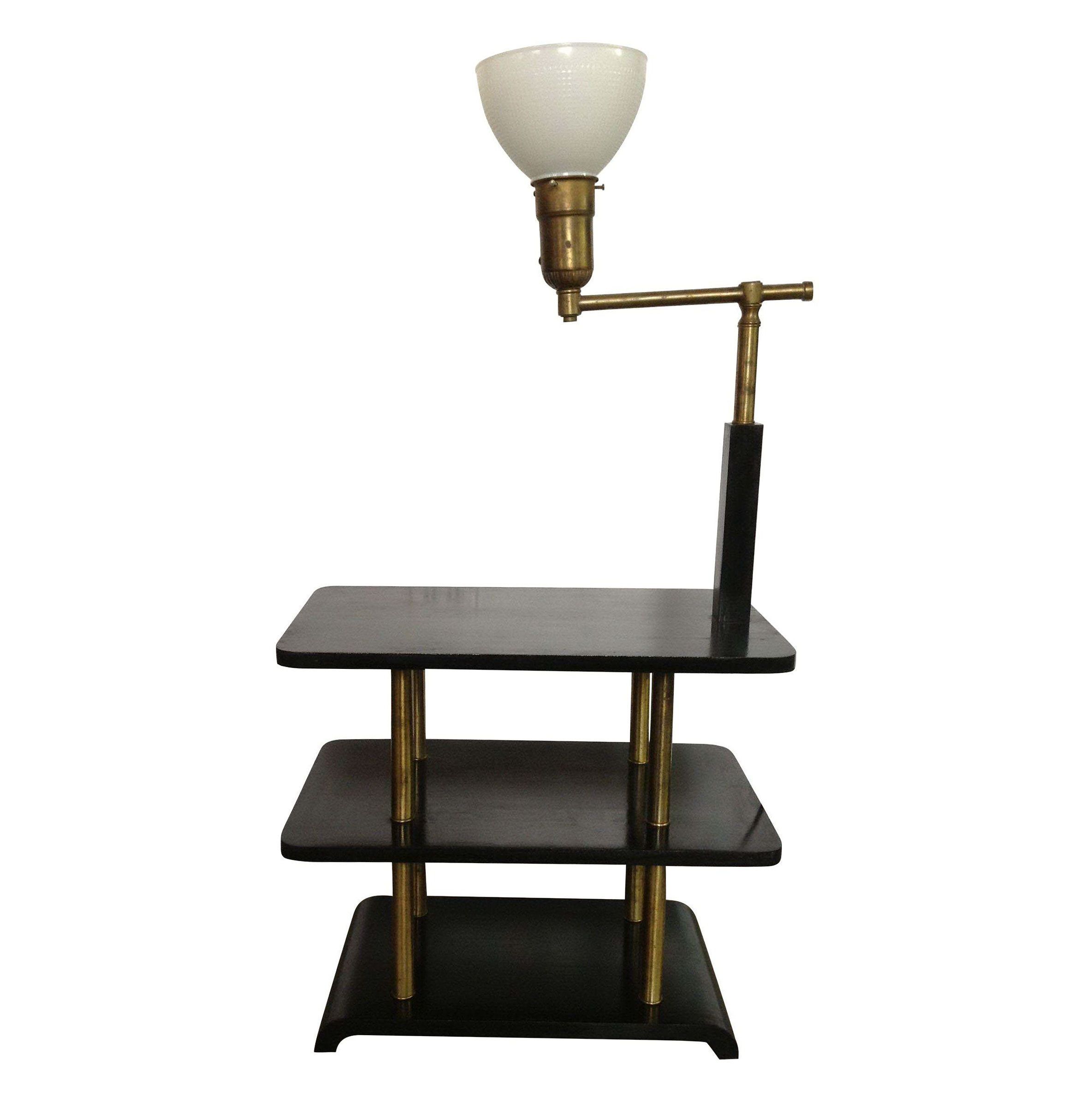 Black Side Table Lamps