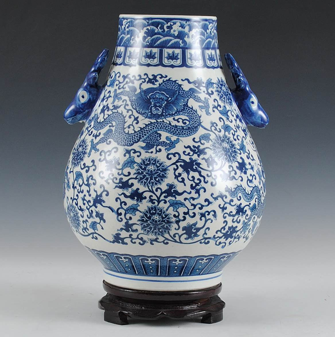 Blue And White Vases Wholesale