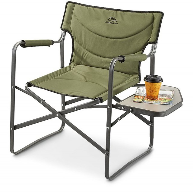 Camp Chair Side Table