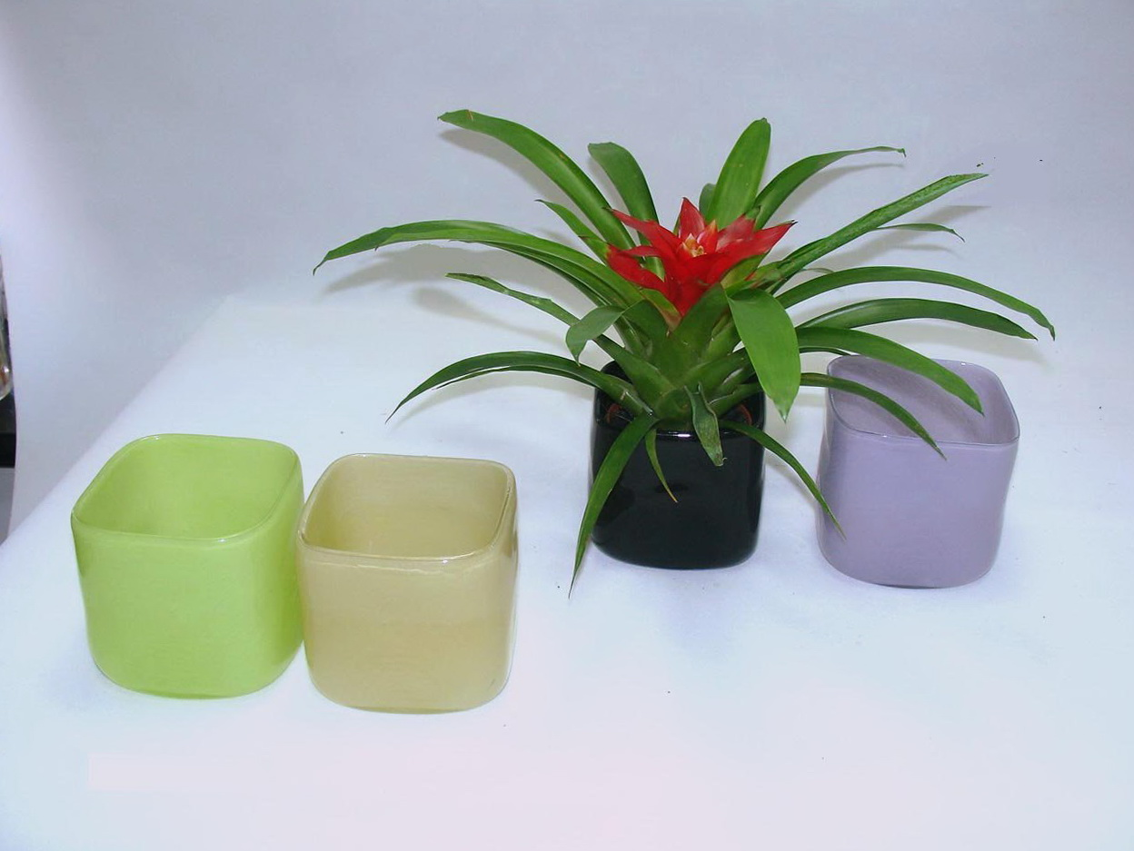 Colored Glass Vases Cheap