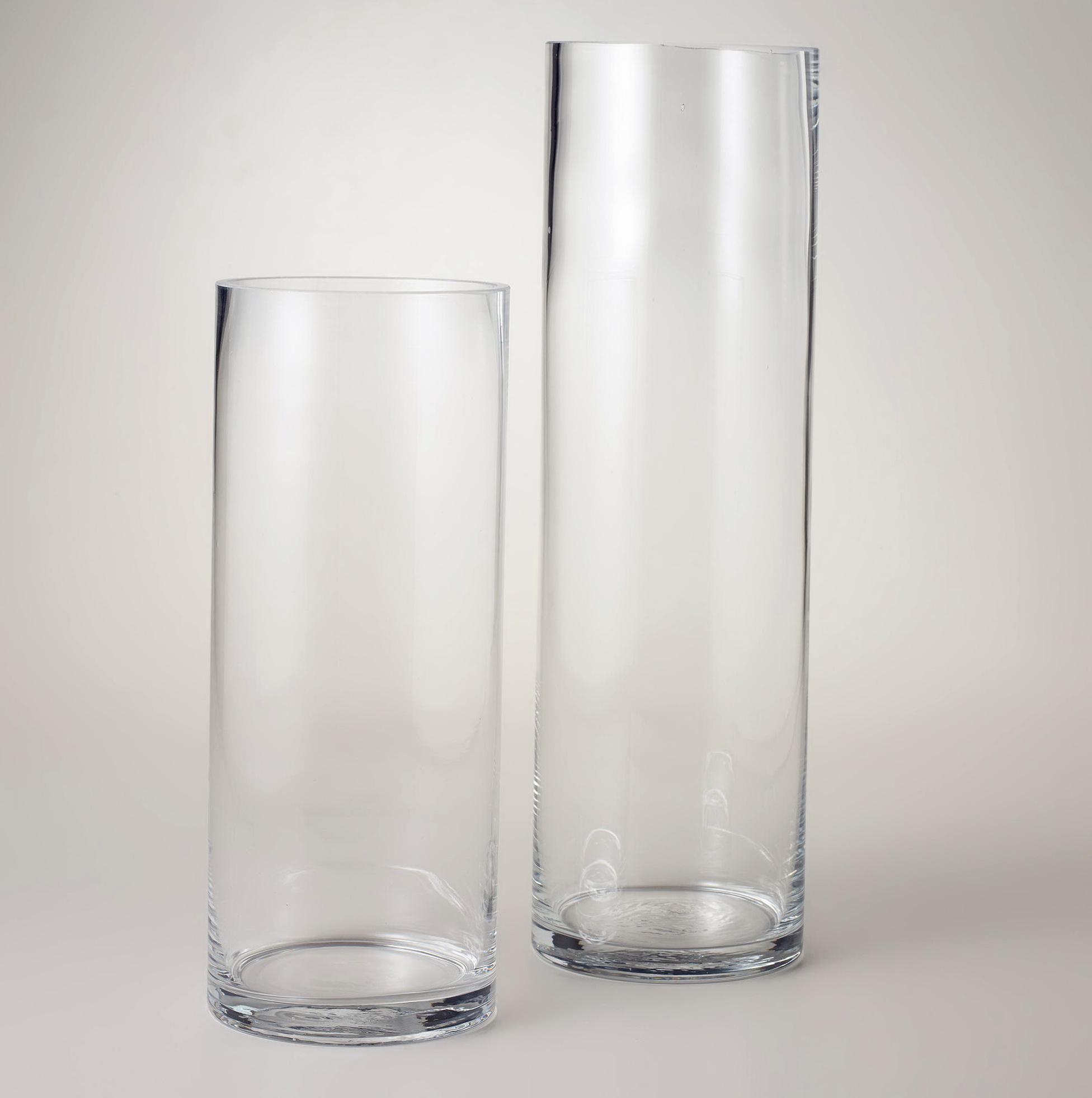 Cylinder Glass Vases In Bulk