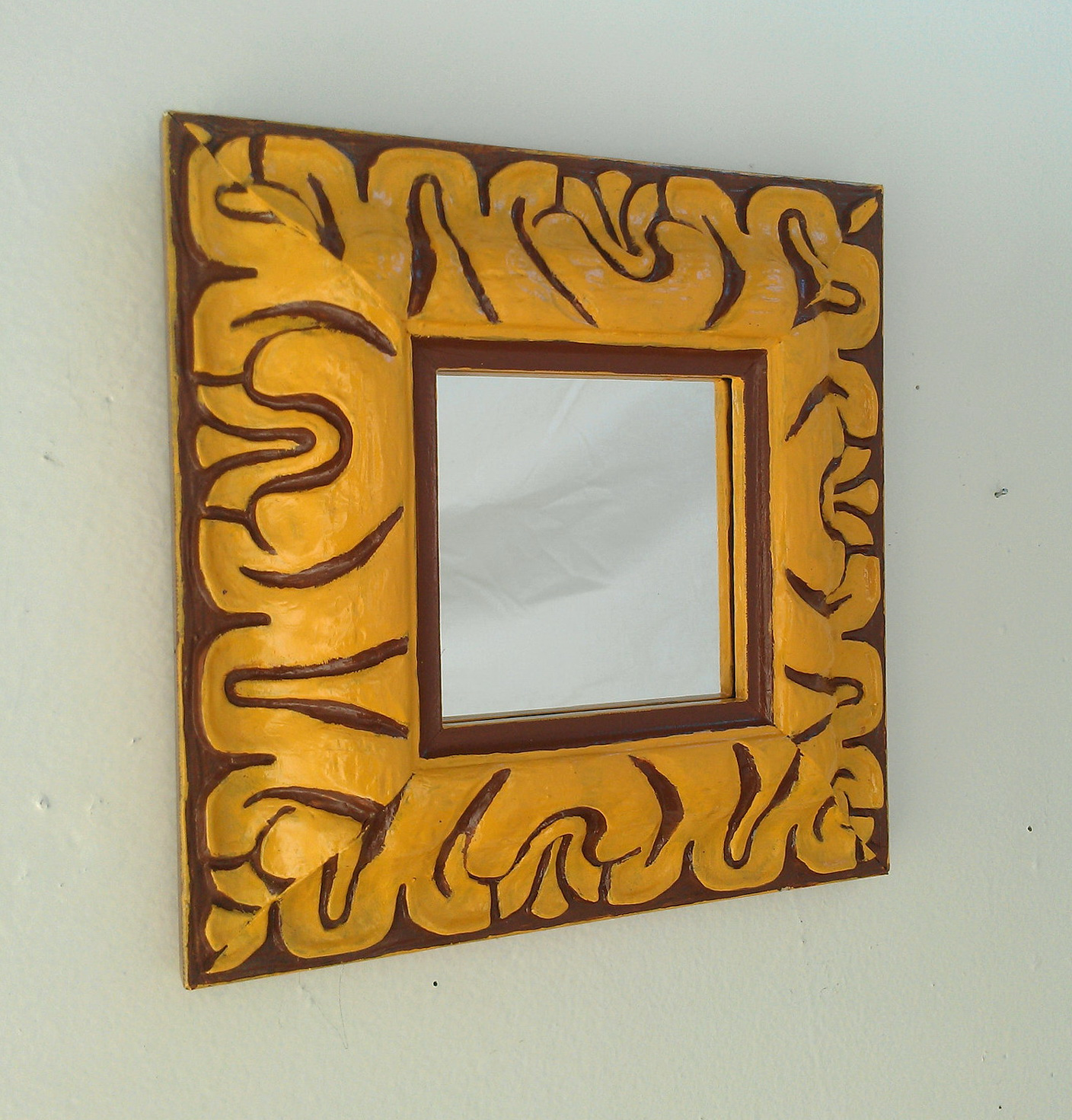 Decorative Wall Mirrors Wood Frame