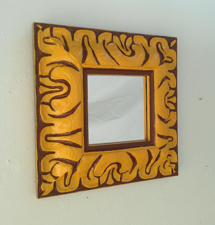 Decorative Wall Mirrors Wood Frame