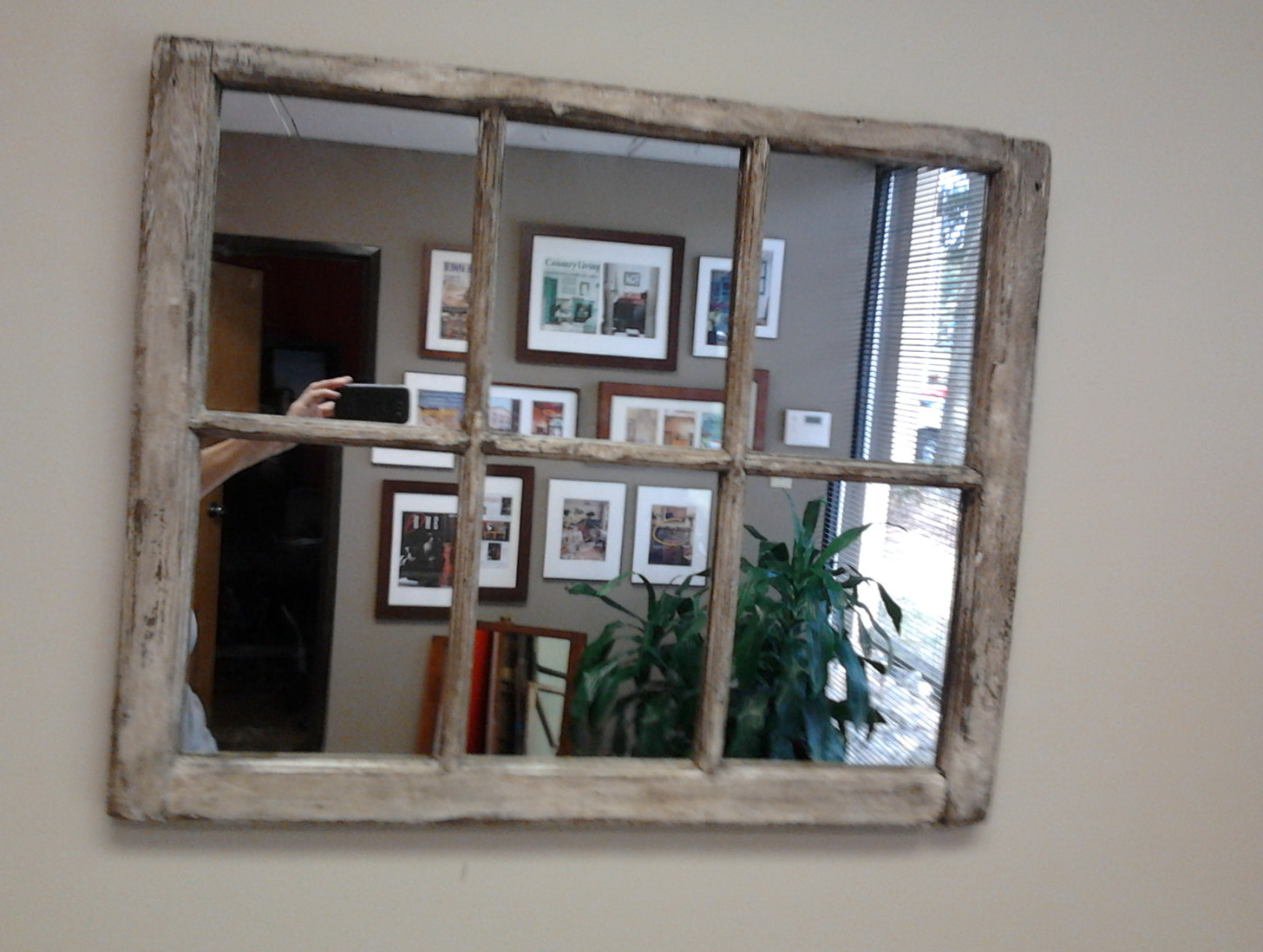 Distressed window pane mirror home design ideas distressed window pane mirror teraionfo
