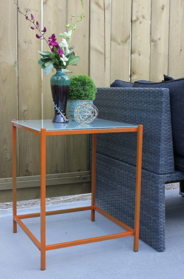 Diy Patio Side Table