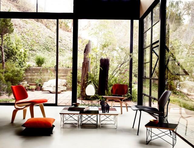 Eames Chair Side Table Home Design Ideas