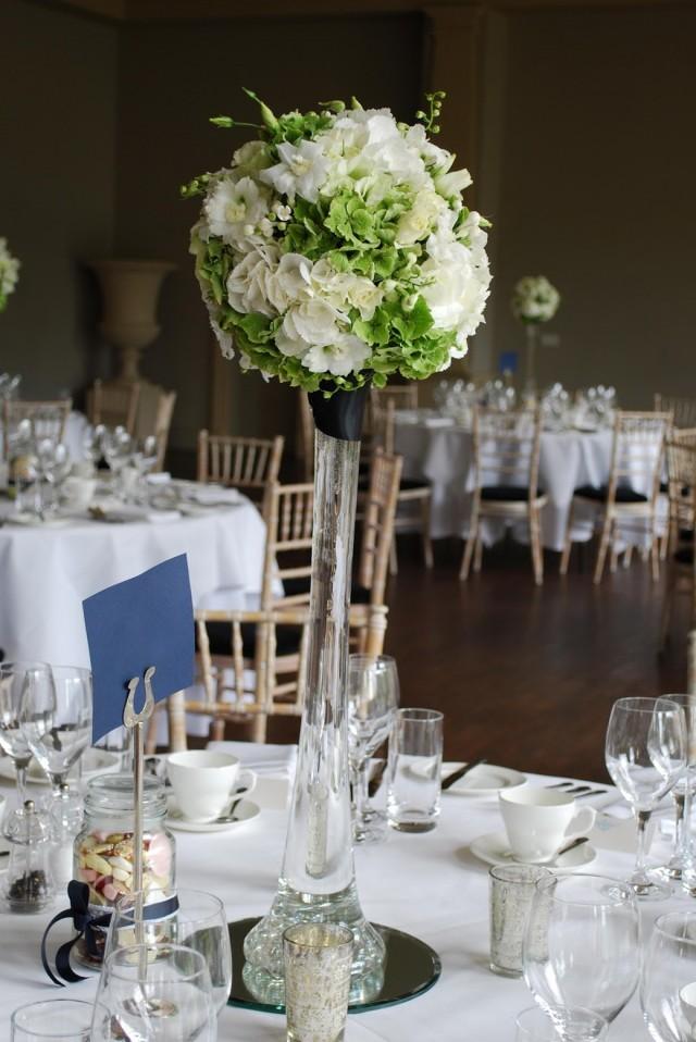 Eiffel Tower Vase Wedding Centerpieces