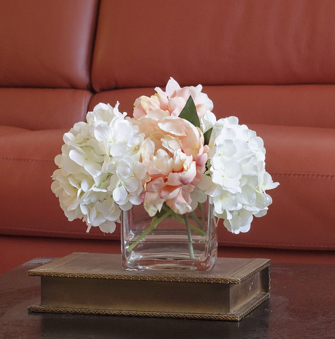 Flower Arrangements In Square Glass Vases Home Design Ideas