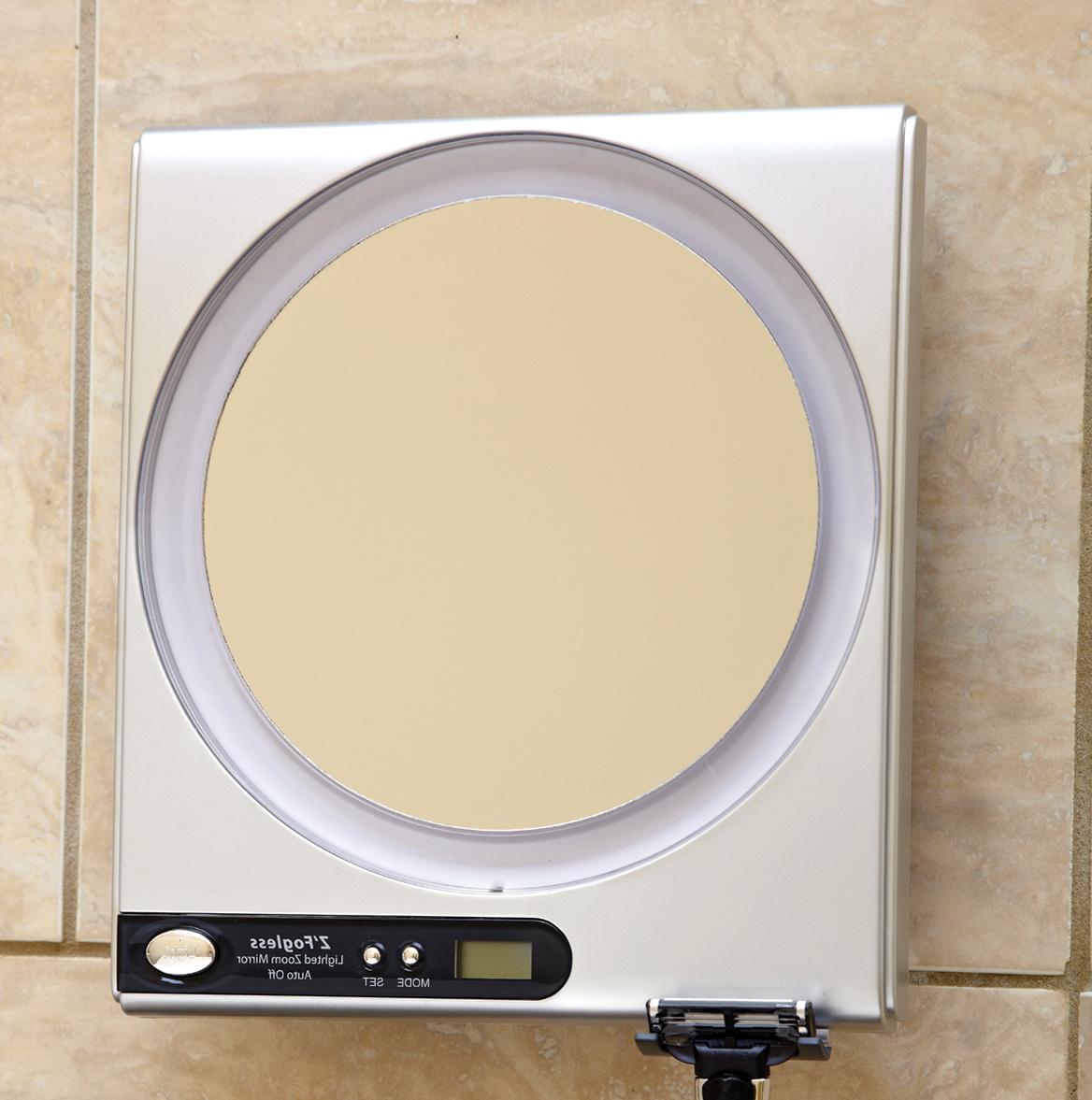Fogless Shower Mirror Target