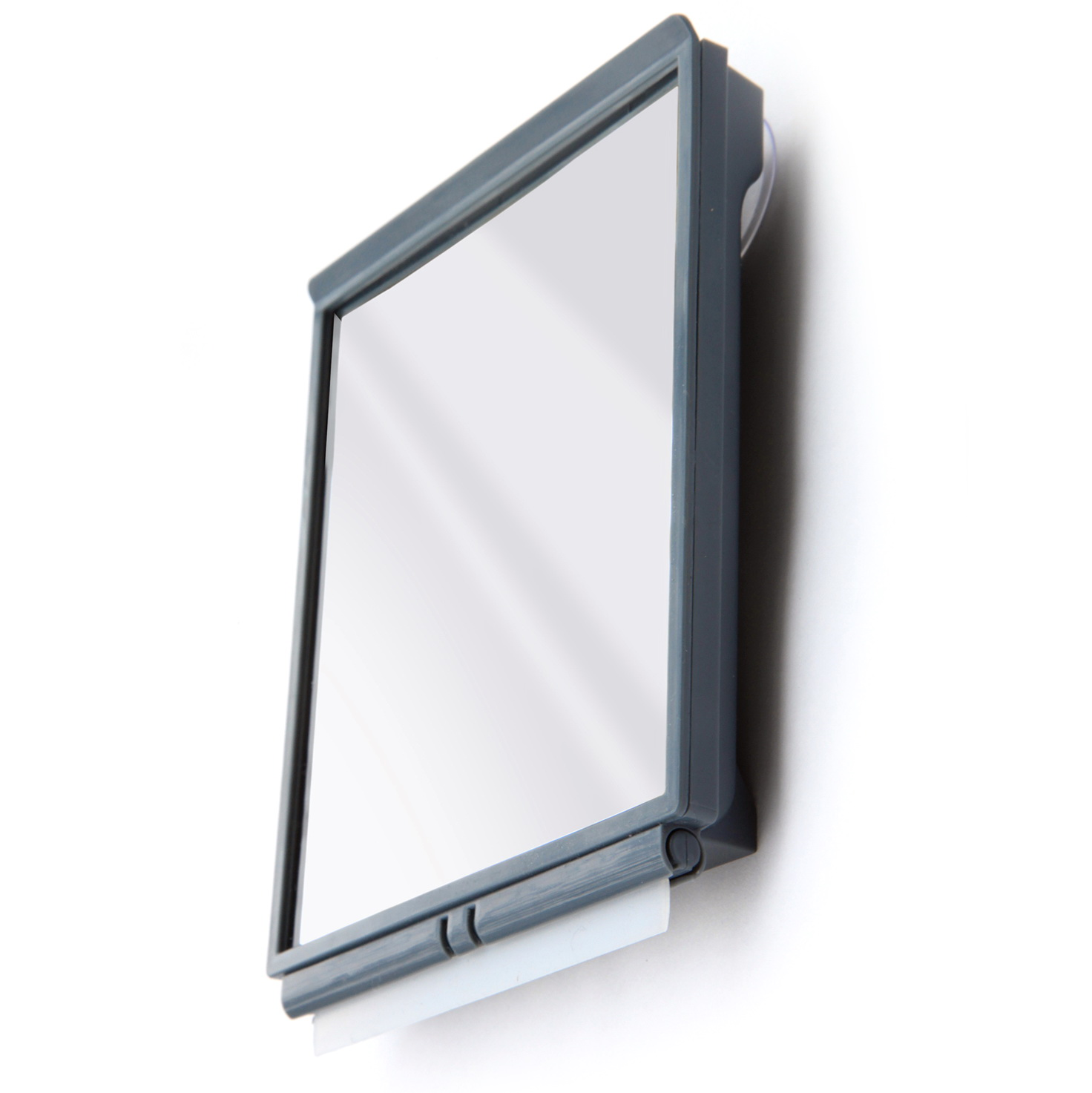 Fogless Shower Mirror With Squeegee By Toilettree
