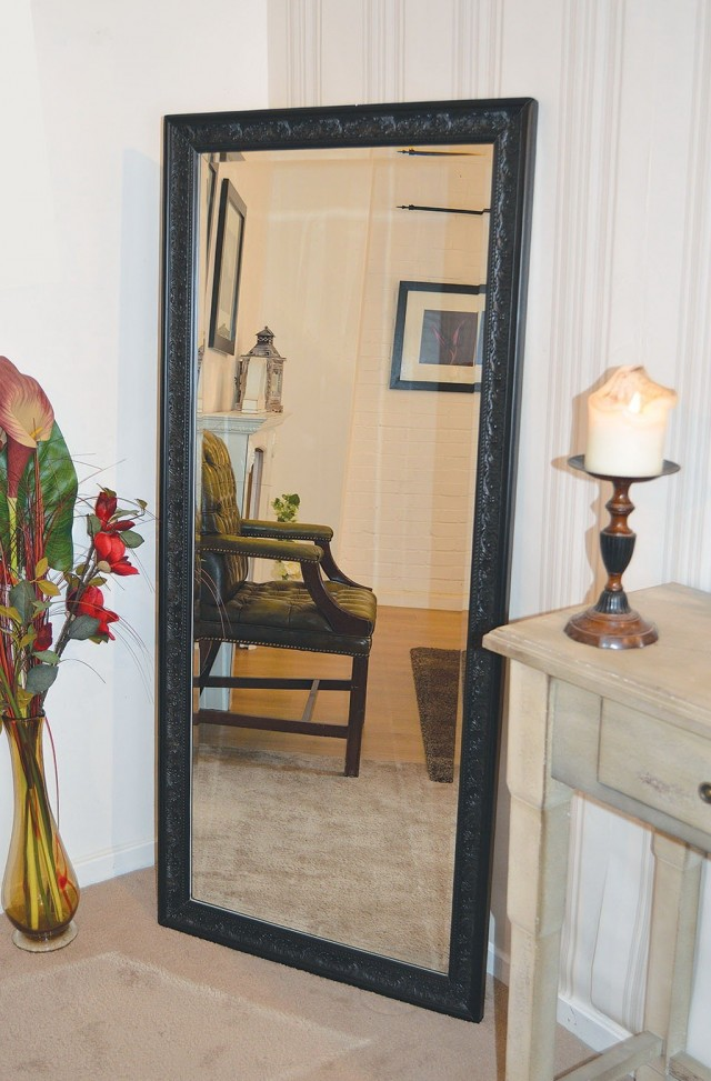 Frameless Full Length Wall Mirror