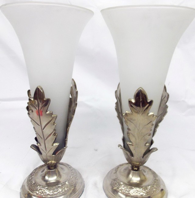 Frosted Glass Vases Wholesale