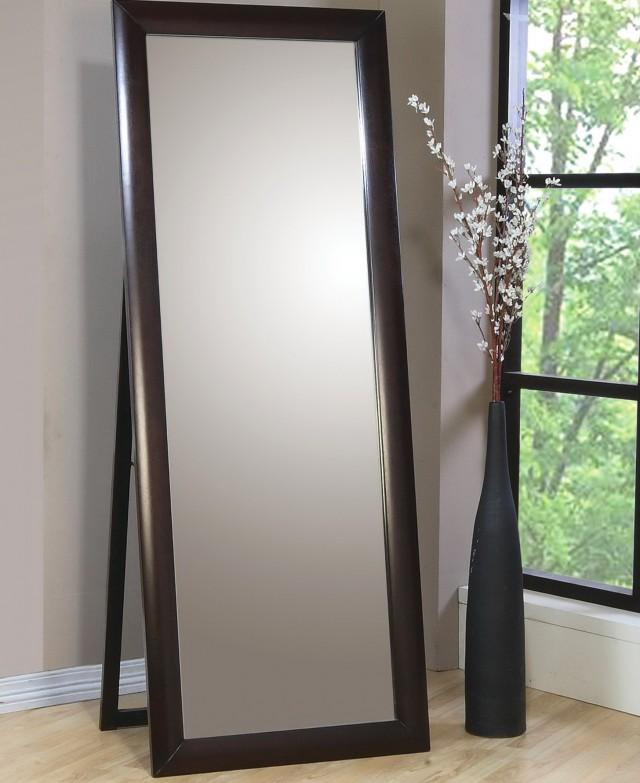 Full Length Wall Mirror Black Frame