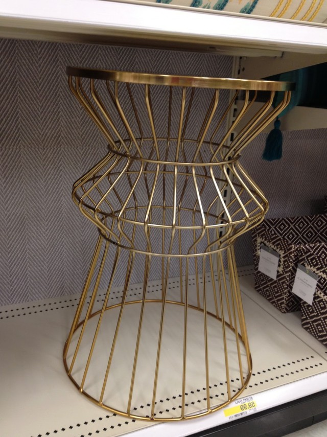 Gold Accent Table Target