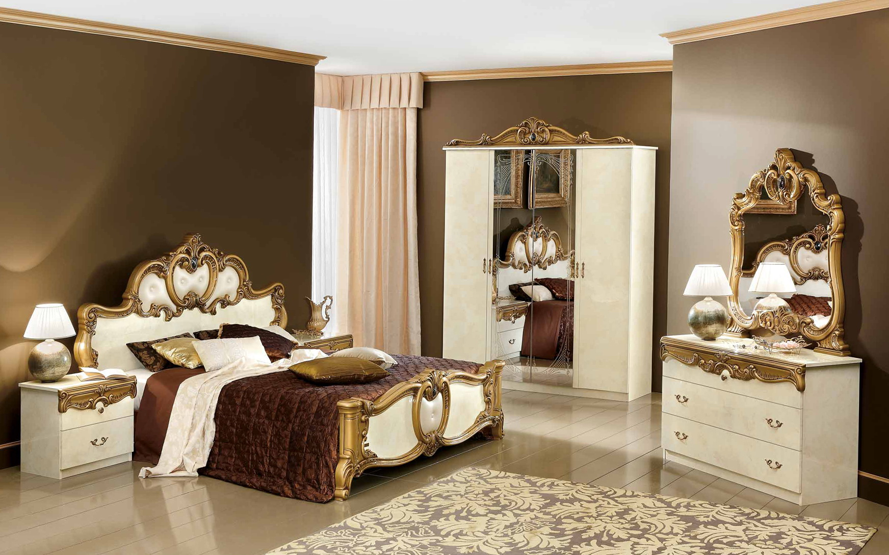 gold bedroom furniture gold mirrored bedroom furniture home design ideas 11701