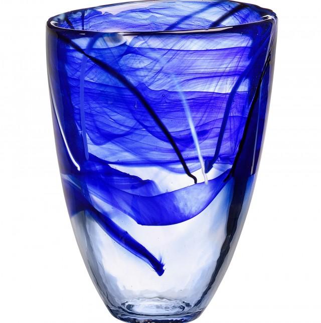 Kosta Boda Vase Blue