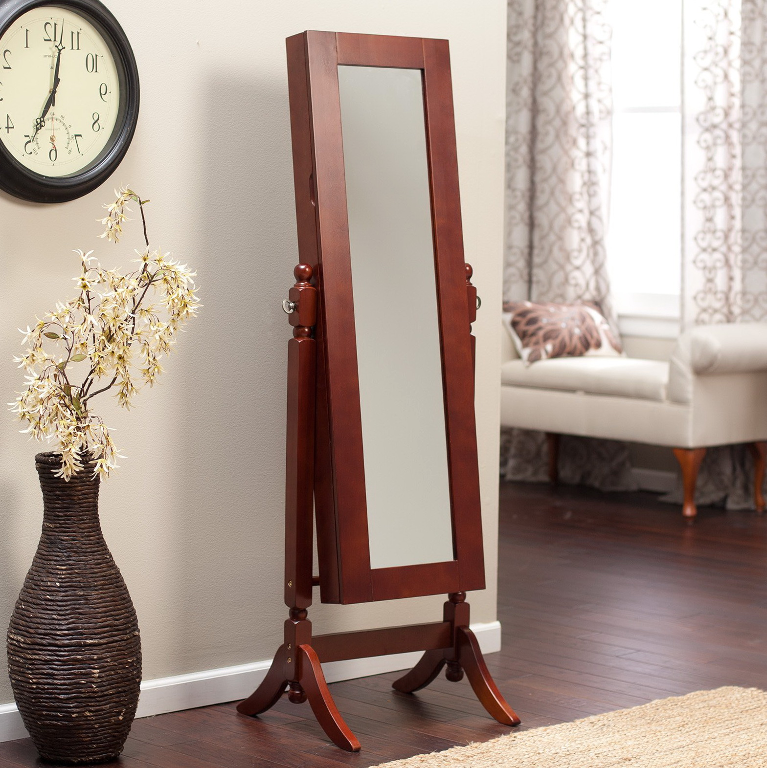Large Floor Mirror Walmart