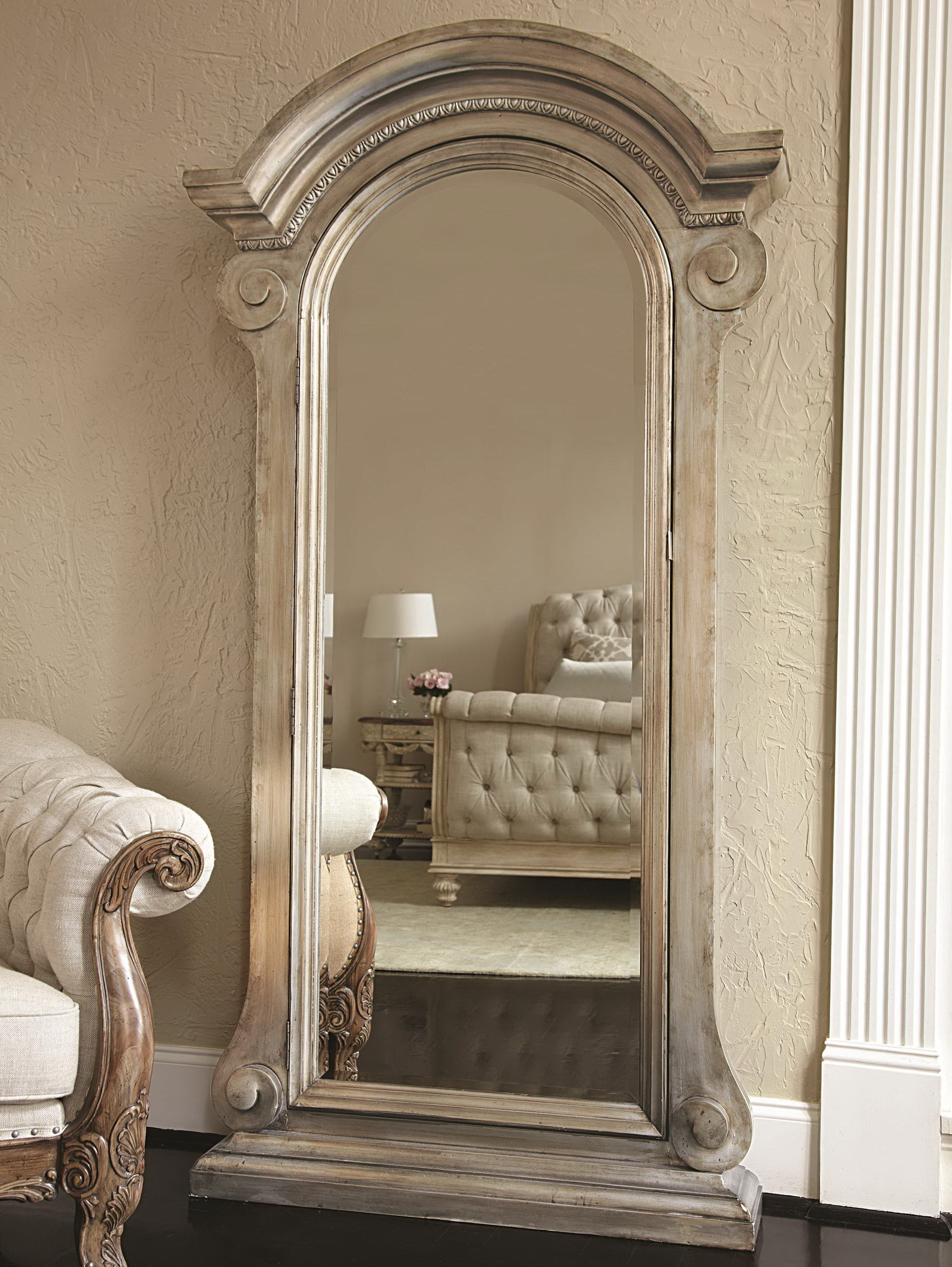 Large Floor Mirror With Jewelry Storage Home Design Ideas