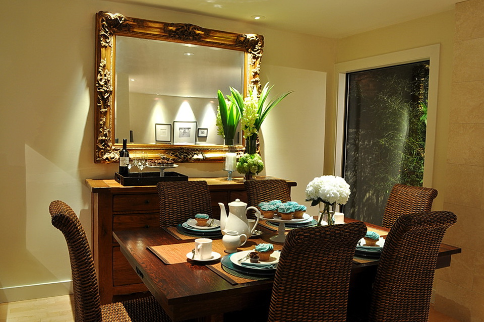Large Wall Mirrors For Dining Room Home Design Ideas