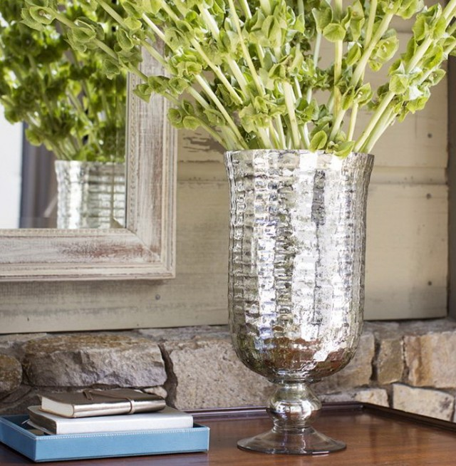 Mercury Glass Vases Diy