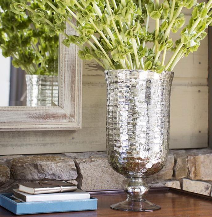 Mercury Glass Vases Diy