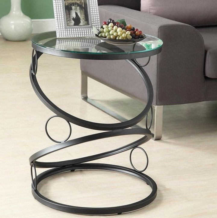 Metal Side Tables For Living Room