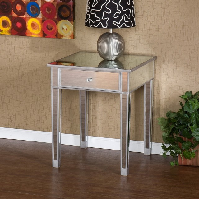 Mirrored Accent Table Target