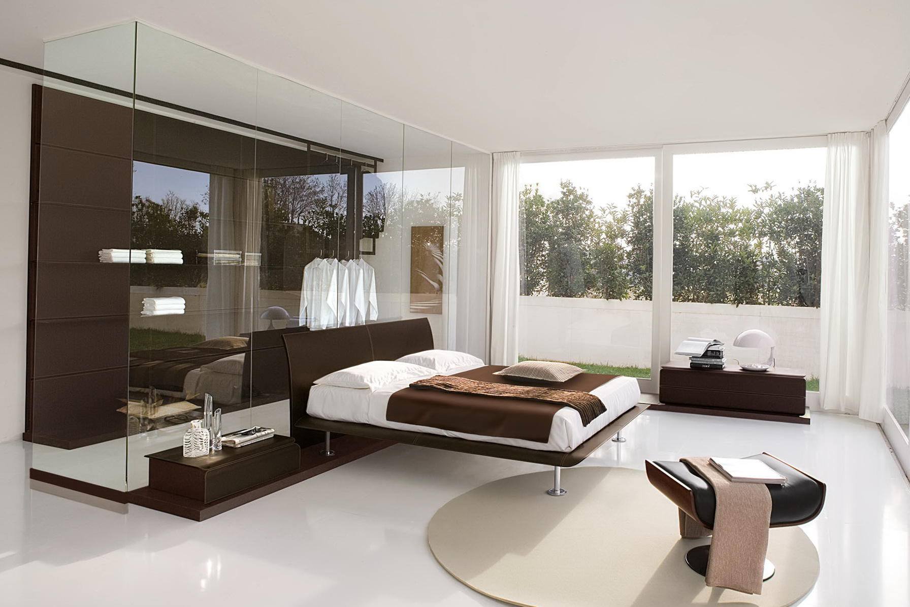 Mirrored Bedroom Furniture Ideas