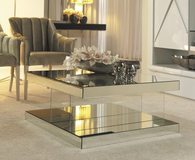 Mirrored Coffee Table Uk