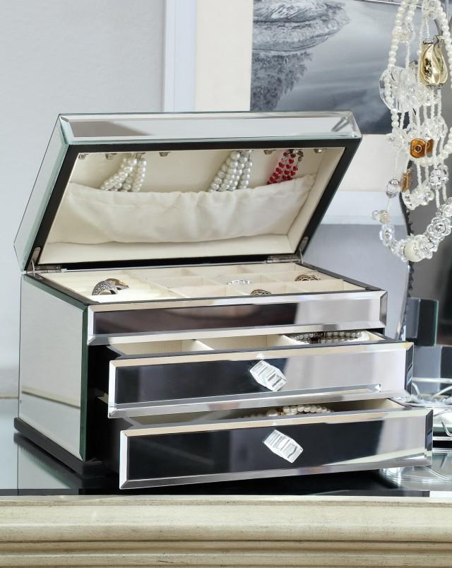Mirrored Jewelry Box Uk