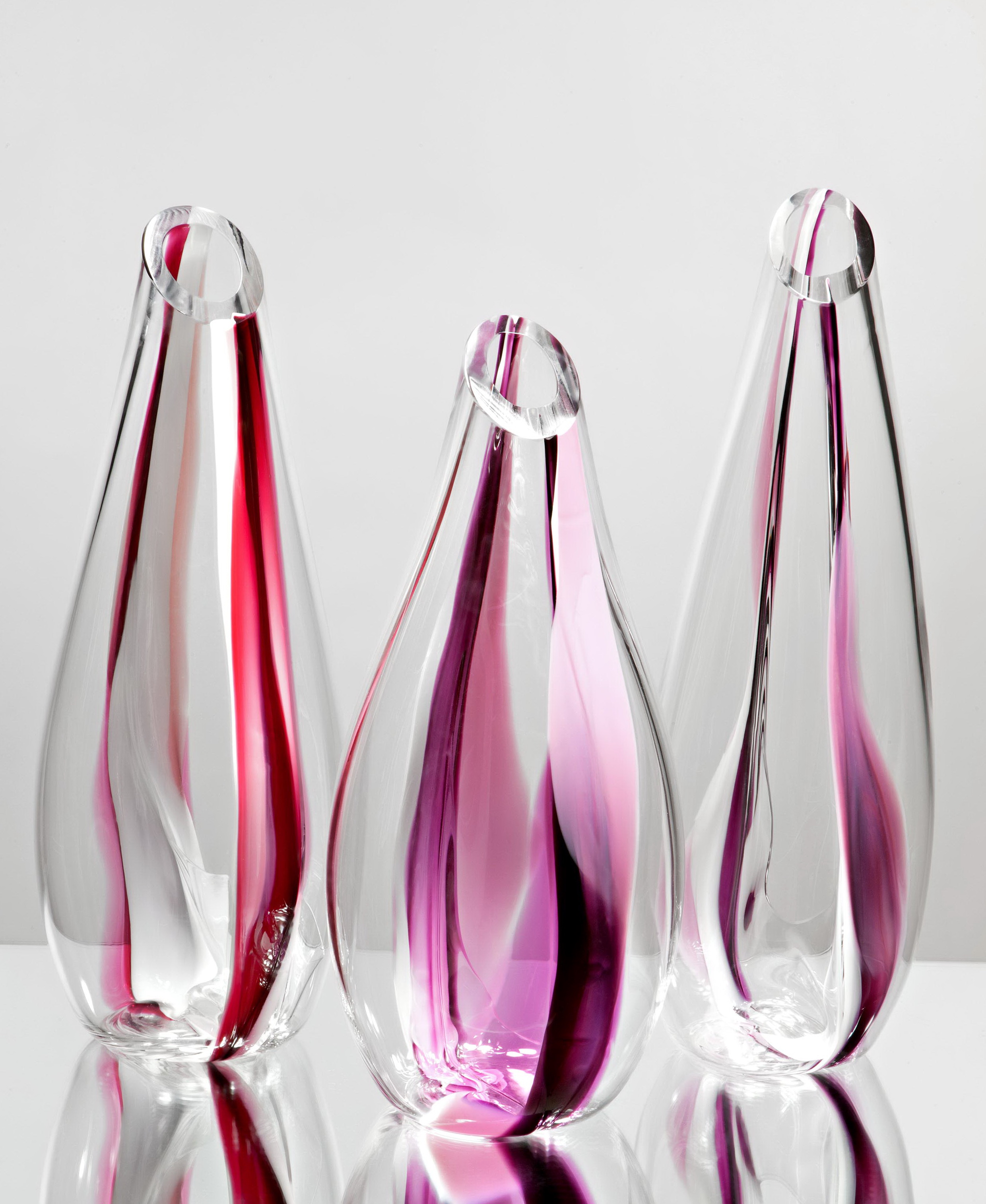Modern Art Glass Vases