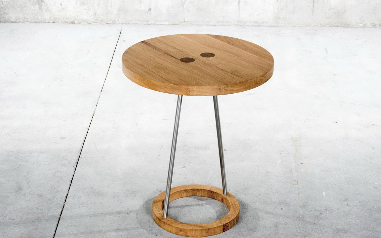 Modern Pedestal Side Table