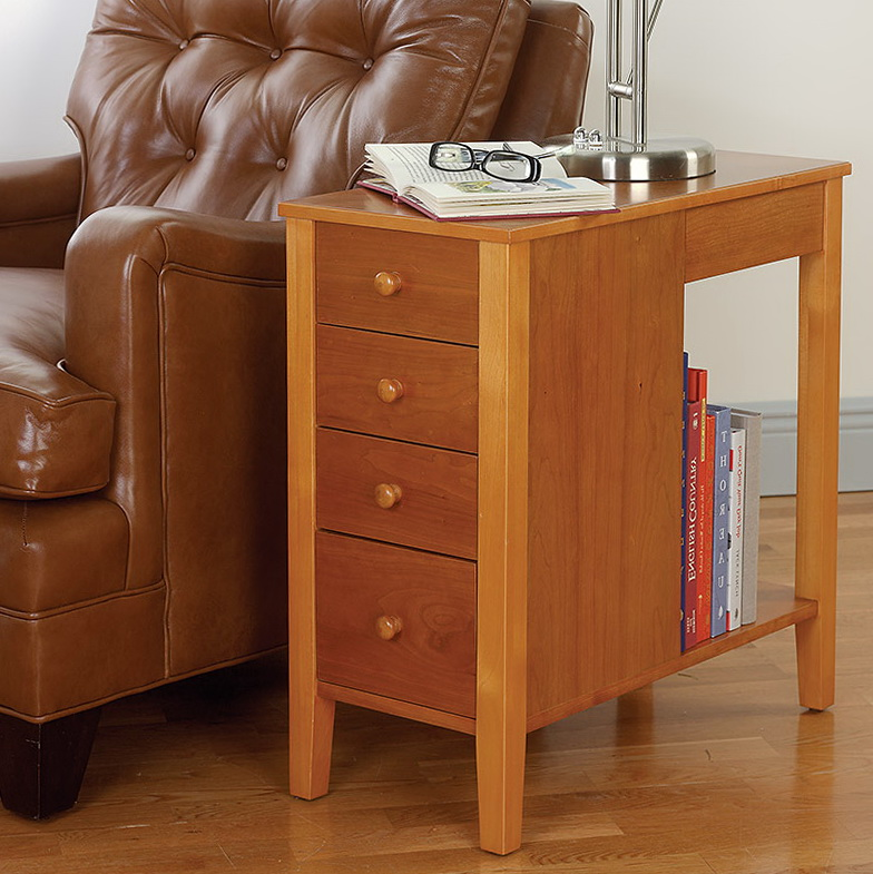 Awesome Narrow Side Table With Drawer