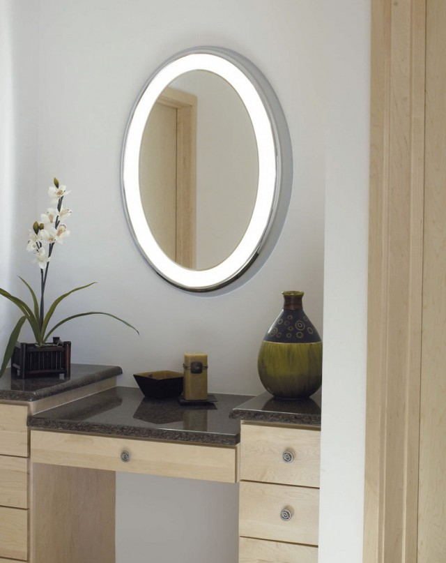 Oval Bathroom Vanity Mirrors