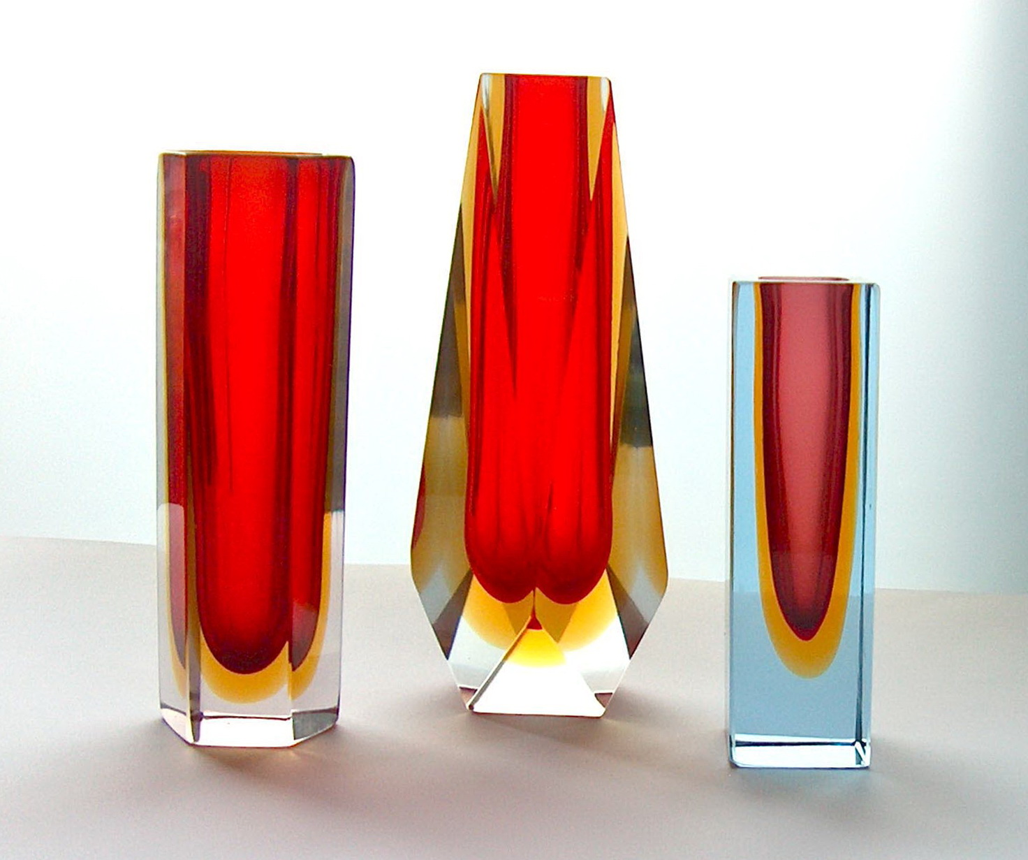 Red Murano Glass Vase Home Design Ideas