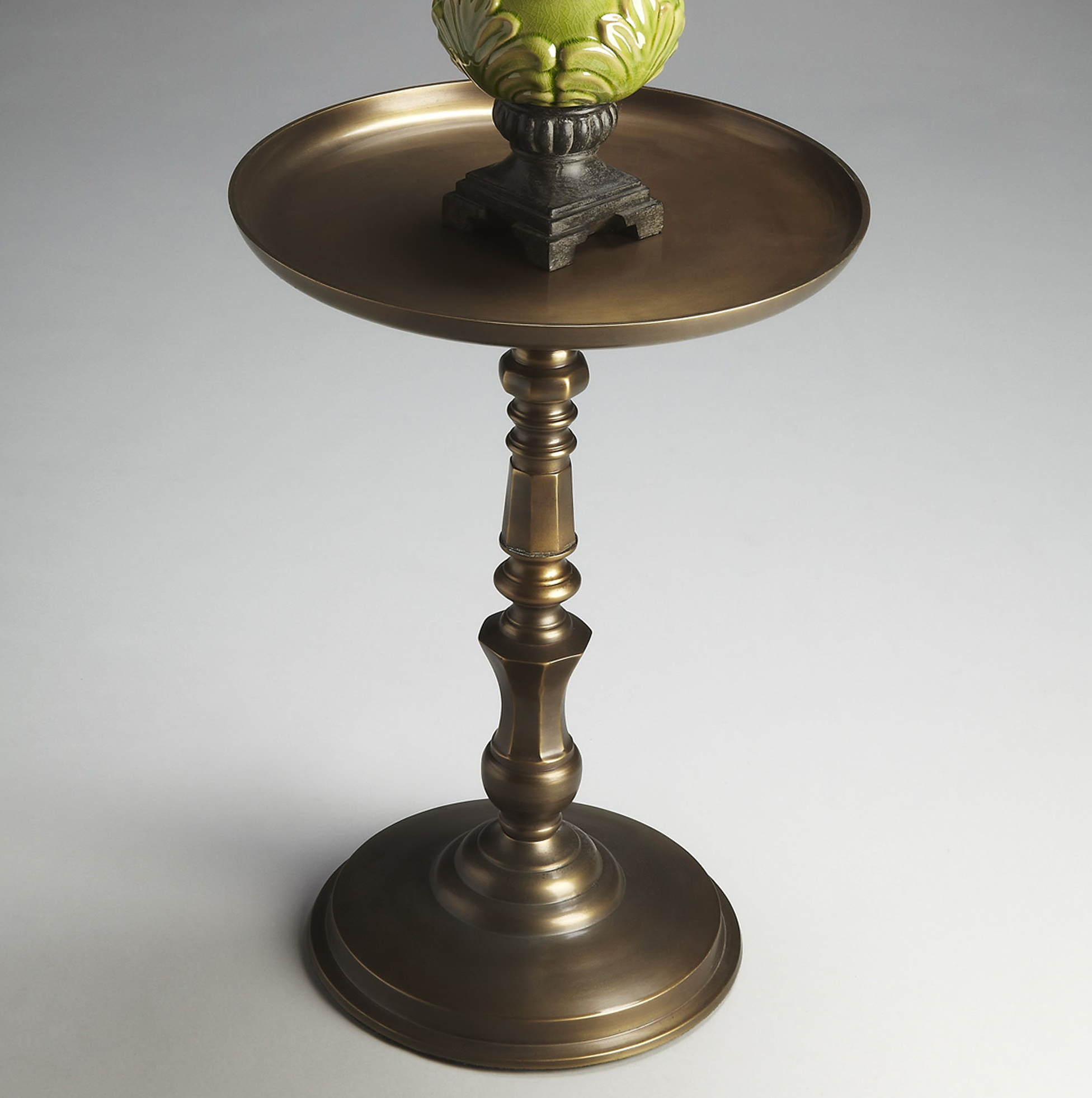 Round Pedestal Side Table