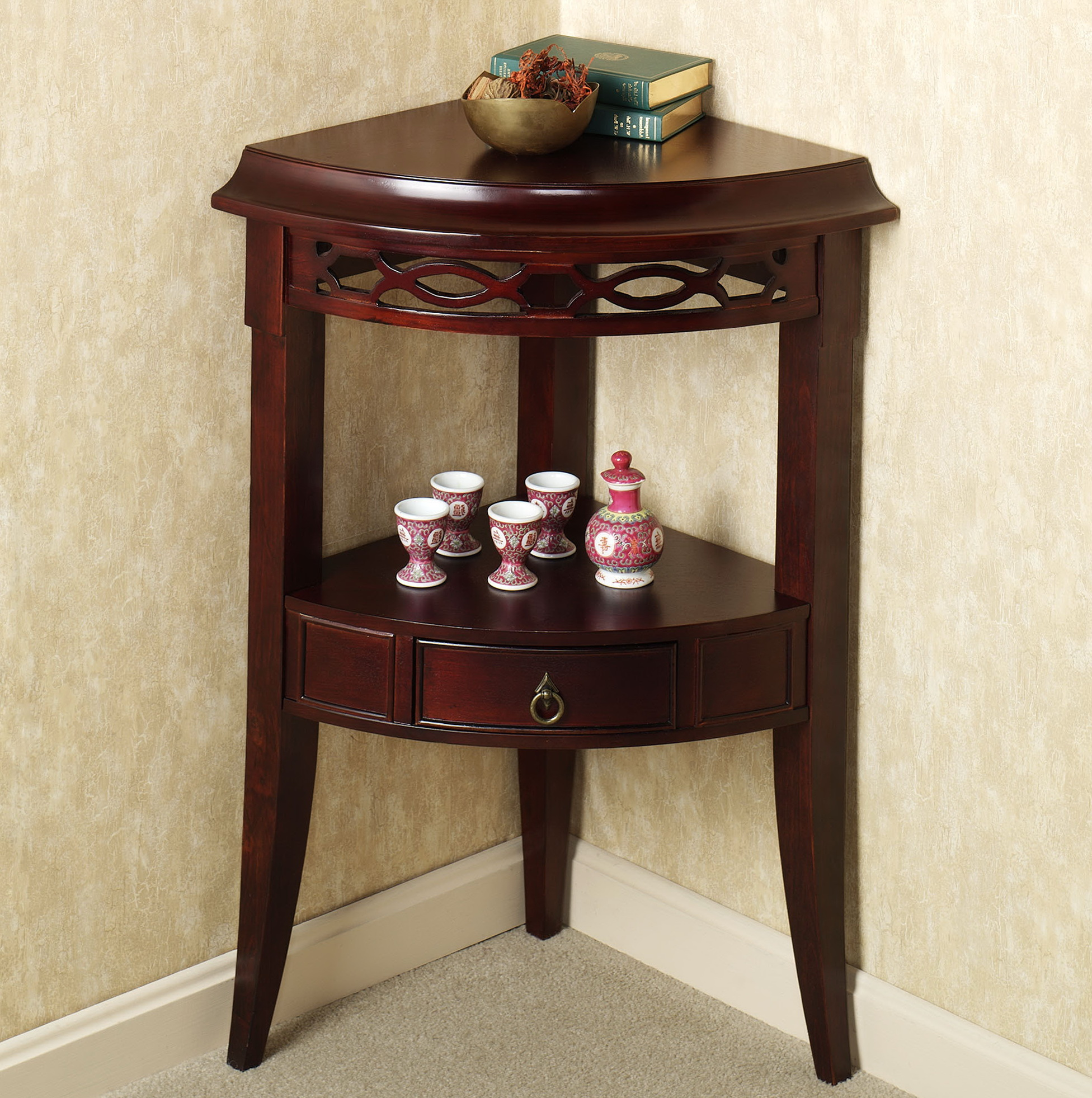 Small accent tables for bathrooms home design ideas for Small bathroom accent tables