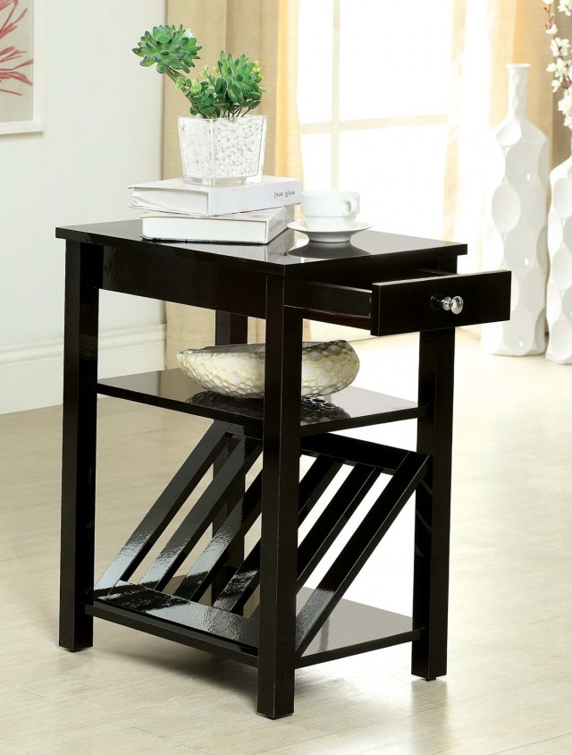 Small Accent Tables With Drawers
