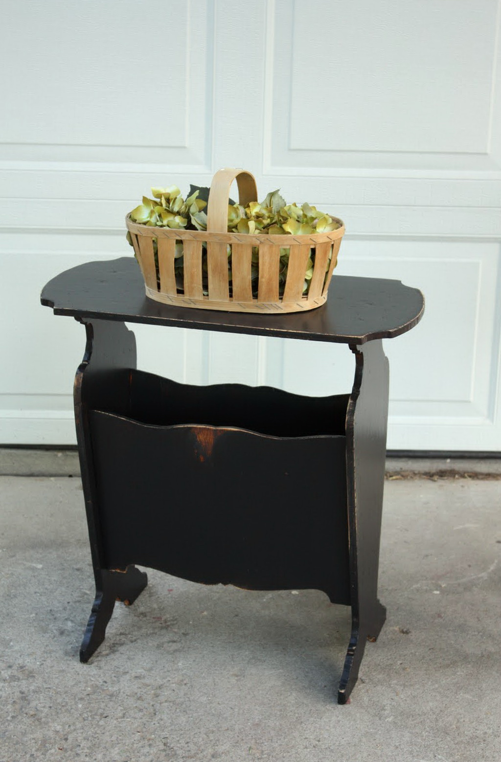 Small Black Side Table