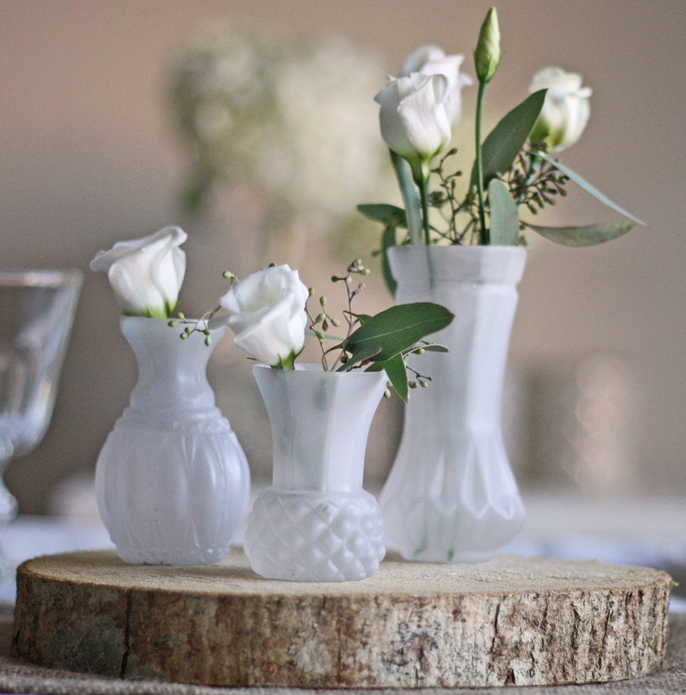 Small Glass Vases Wedding
