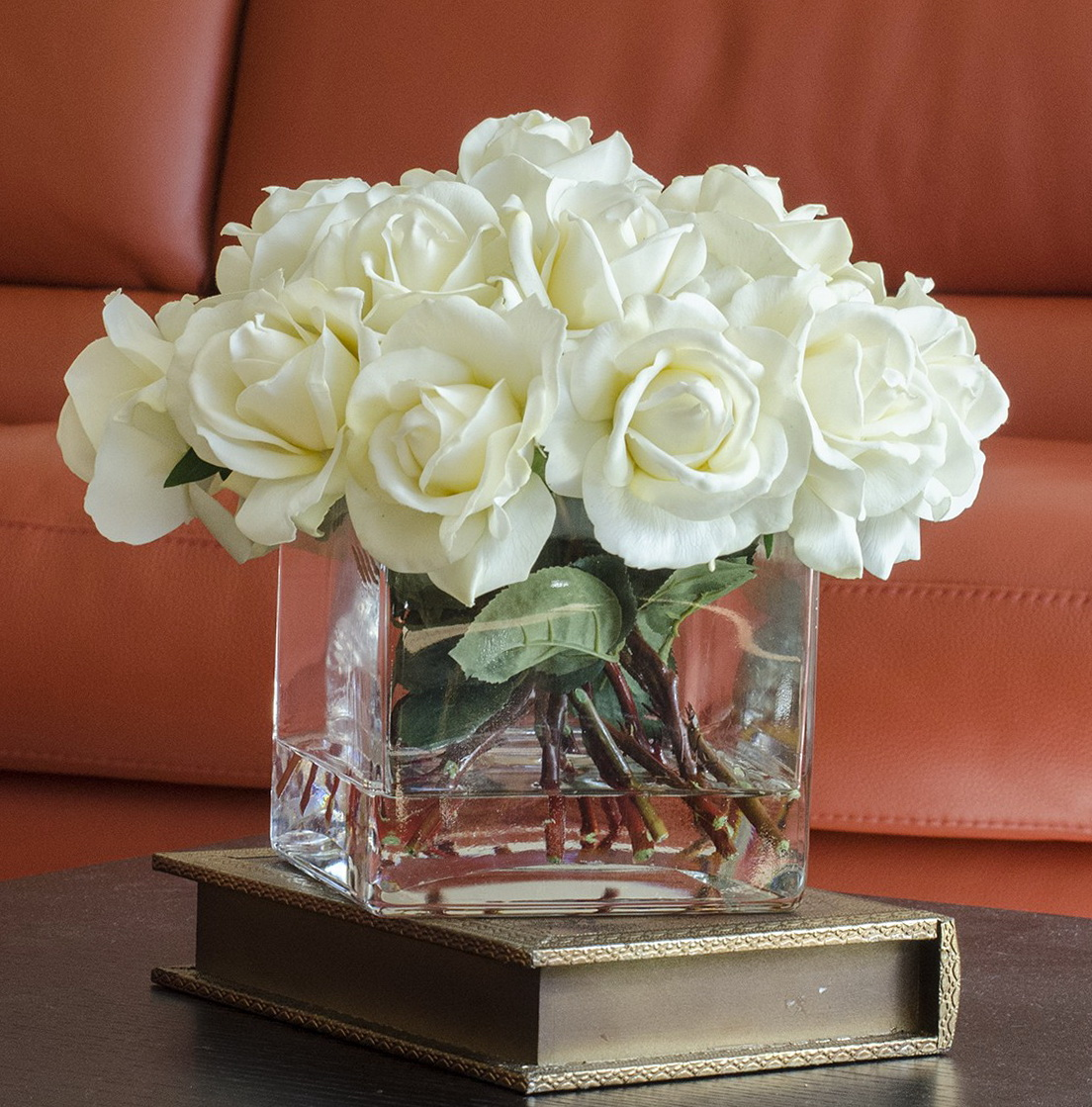 Square glass vase centerpiece ideas home design