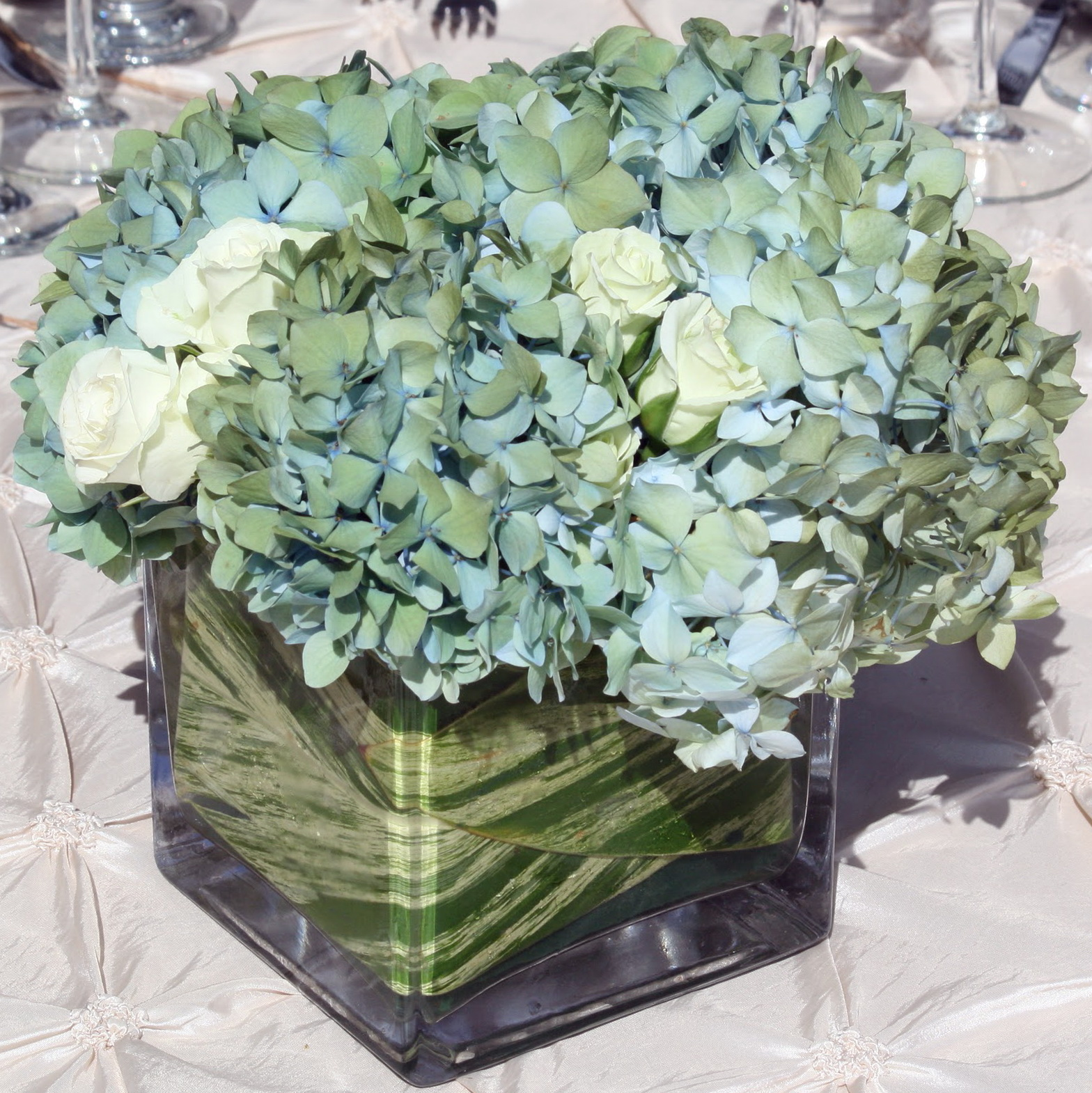 Square Glass Vase Wholesale
