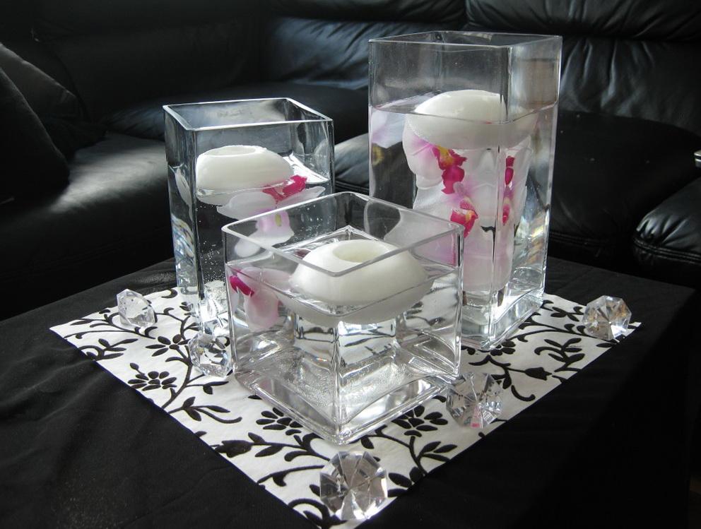 Square Glass Vases Cheap