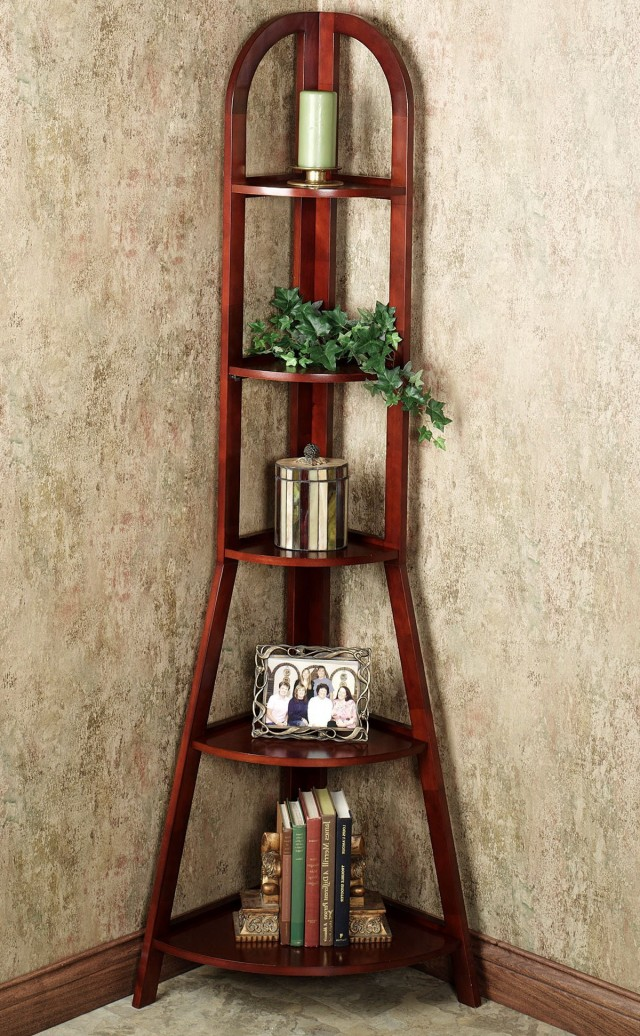 Tall Corner Accent Table