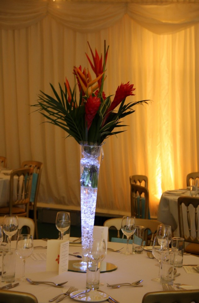 Tall Cylinder Glass Vases